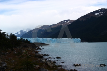 Perito moreno mountain sky south america ice.