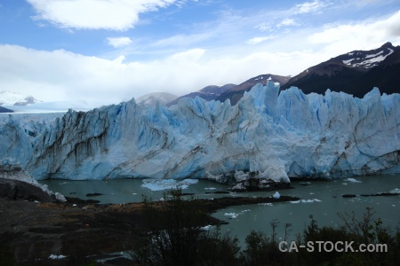Perito moreno south america water glacier lake.
