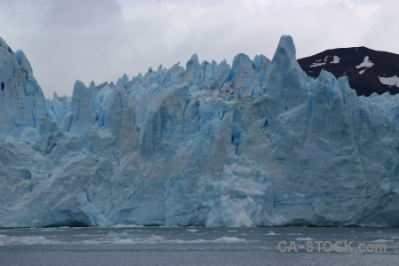 Perito moreno terminus sky lago argentino argentina.