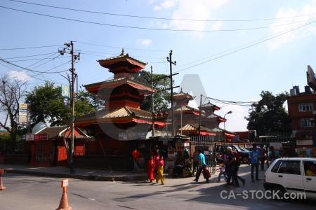 Person cloud asia nepal building.