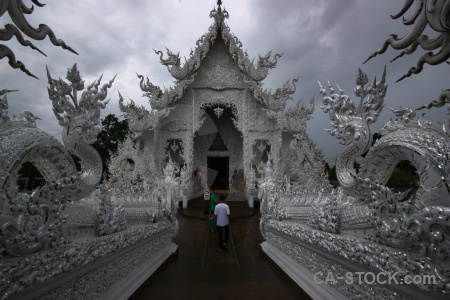 Person cloud white temple asia ornate.