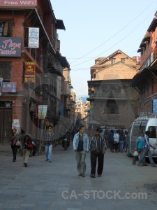 Person nepal kathmandu sign sky.