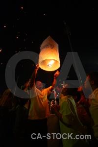 Person thailand festival asia light.