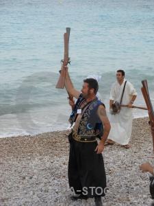 Person water gun fiesta musket.