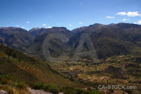 Peru andes landscape sky south america.