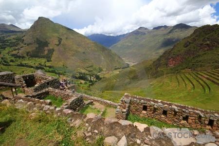 Peru bush andes inca cloud.
