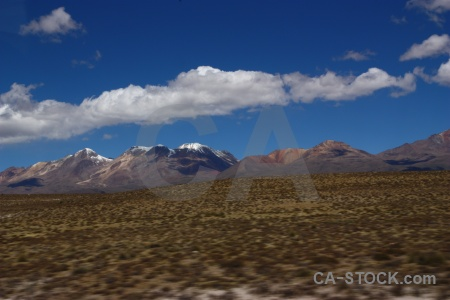 Peru crucero alto mountain cloud landscape.
