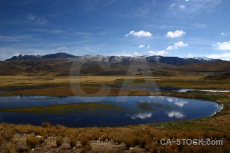 Peru landscape puno south america water.