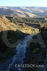 Peru sky water colca valley andes.