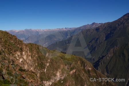 Peru south america canyon landscape mountain.