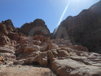 Petra ancient sky nabataeans archaeological.