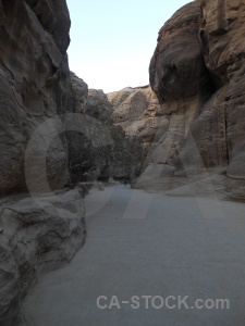 Petra asia al siq path middle east.
