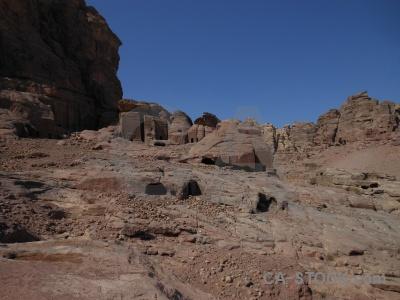 Petra asia carving mountain ancient.