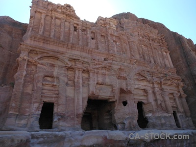 Petra historic middle east nabataeans royal.