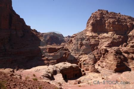 Petra jordan ancient archaeological western asia.