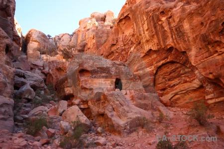 Petra rock asia cliff western.