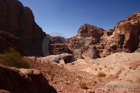 Petra rock mountain carving archaeological.
