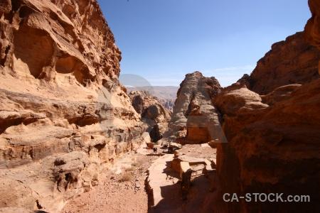 Petra sky cliff middle east jordan.