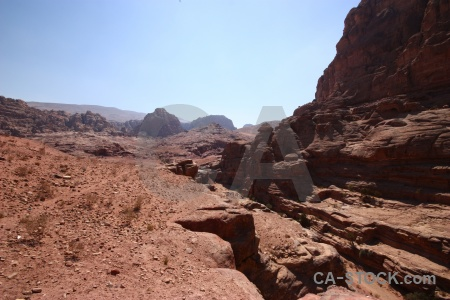 Petra sky historic ancient jordan.