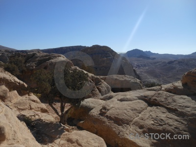 Petra sky nabataeans rock historic.