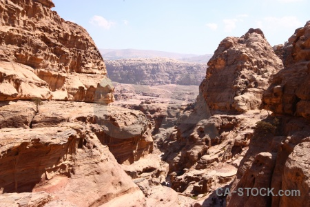 Petra unesco middle east sky cliff.