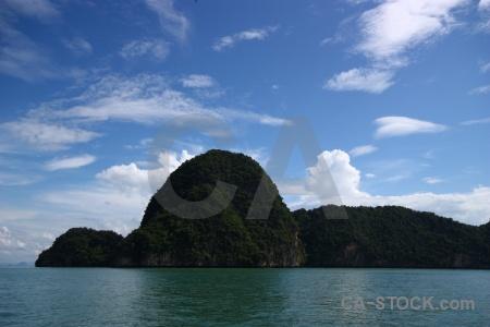 Phang nga bay asia sky thailand cliff.
