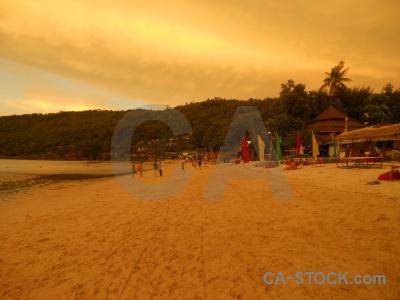 Phi phi island sand sea asia water.