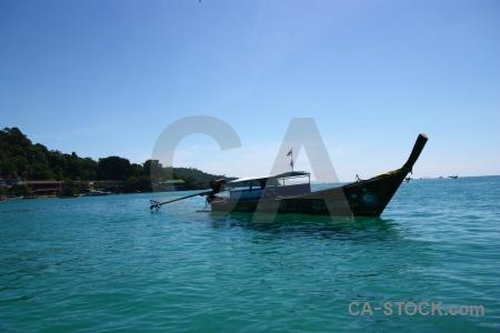 Phi phi island sky southeast asia hill ko don.