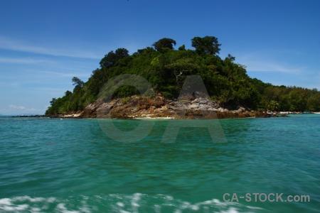 Phi phi island tree ko mai phai koh sky.