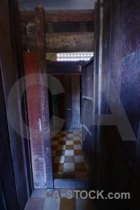 Phnom penh khmer rouge tuol sleng genocide museum inside torture.