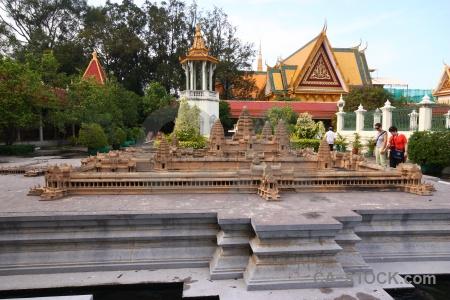 Phnom penh palace royal southeast asia angkor wat.