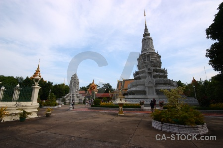 Phnom penh royal palace norodom suramarit southeast asia cambodia.