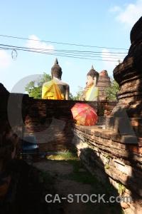 Phra chedi chaimongkol southeast asia step wat yai chai mongkhon buddhism.