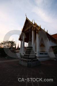Pillar bangkok gold buddhism buddhist.