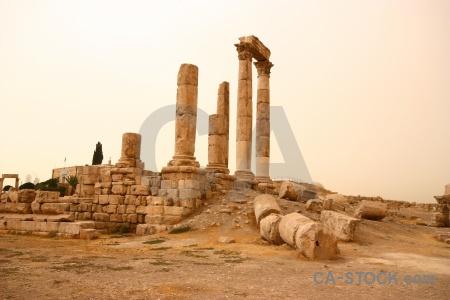 Pillar citadel jordan block ruin.