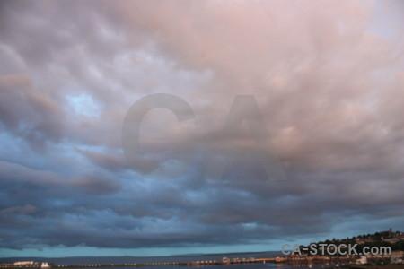 Pink sky cloud.