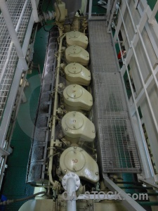 Pipe vehicle akademik ioffe railing inside.