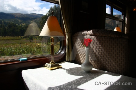 Plant altitude carriage andean explorer train.