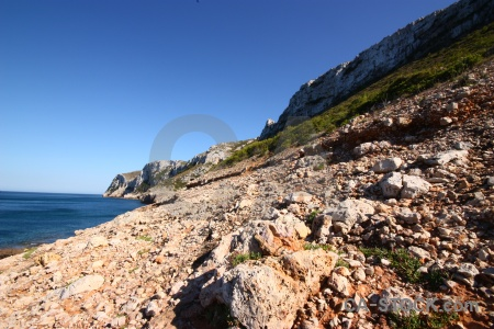 Plant spain sea water javea.