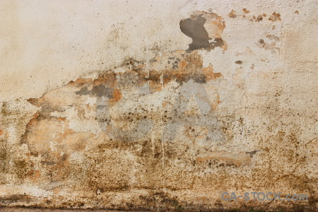 Plaster texture brown wall.
