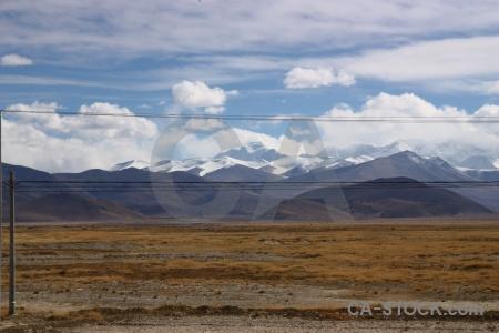 Plateau cloud friendship highway china sky.