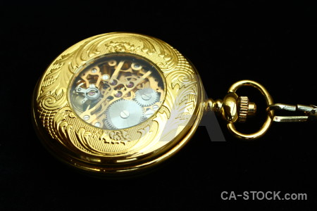 Pocket watch black object.