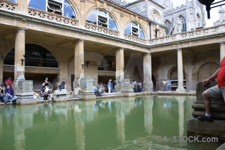 Pool roman person uk building.