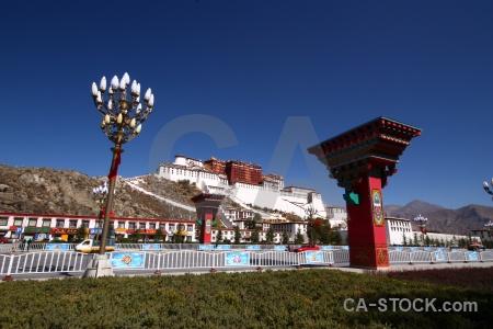 Potala palace altitude unesco sky monastery.