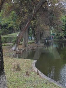 Presidential palace ho chi minh lake southeast asia vietnam.