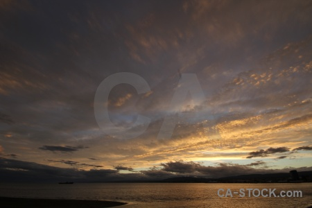 Punta arenas cloud south america sky sea.