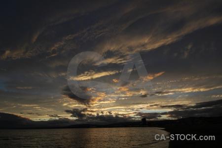 Punta arenas sky sea cloud patagonia.