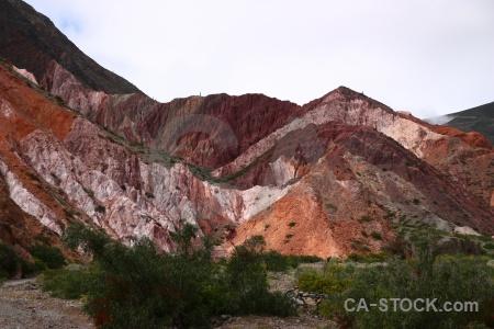 Purmamarca cerro de los siete colores mountain landscape sky.