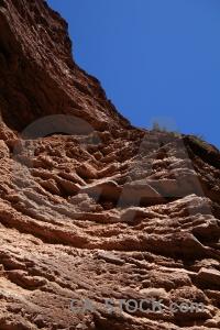 Quebrada de cafayate las conchas south america argentina salta tour 2.