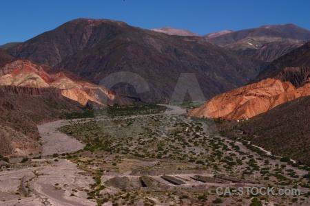 Quebrada de humahuaca mountain argentina unesco sky.